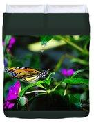 Monarch Buttefly Duvet Cover