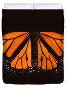 Monarch Butterfly Wings Duvet Cover