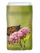 Monarch On Swamp Milkweed 2014-1 Duvet Cover