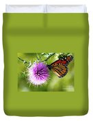 Monarch Thistle Duvet Cover