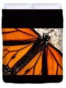 Monarch Triangles Duvet Cover