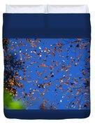 Monarchs Duvet Cover