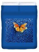Monarchs Mating Duvet Cover