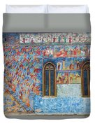 Monastery Angels Duvet Cover
