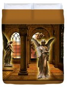Monastery Angles Duvet Cover