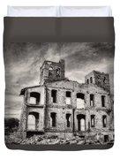 Monastery Memories Duvet Cover