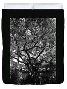 Monastery Tree Duvet Cover