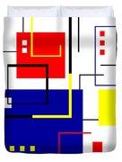 Mondrian Redux Duvet Cover