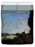 Monet Argenteuil  Duvet Cover