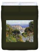 Monet: Bordighera, 1884 Duvet Cover