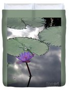 Monet Lily Pond Reflection  Duvet Cover