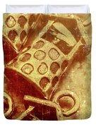 Monetary Wells Duvet Cover