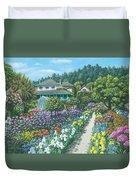 Monet's Garden Giverny Duvet Cover
