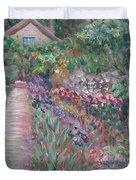 Monet's Gardens Duvet Cover