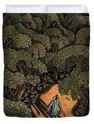 Money Forest Duvet Cover