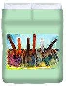 Money Laundering  Duvet Cover by Karon Melillo DeVega