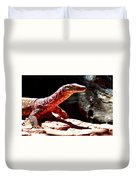 Monitor Lizard Duvet Cover