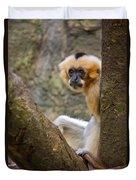 Monkey Chillin Duvet Cover