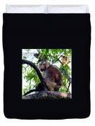 Monkey In Tree Duvet Cover