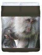Monkey Mother 3 Duvet Cover