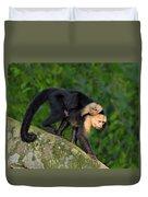 Monkey On My Back Duvet Cover
