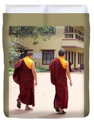 Monks Duvet Cover