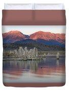 Mono Lake Sunrise 1 Duvet Cover