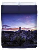 Mono Lake Sunset 4 Duvet Cover