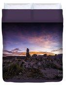 Mono Lake Sunset 5 Duvet Cover