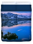 Mono Lake Twilight Duvet Cover