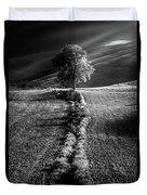 Monochrome Valley Duvet Cover
