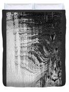 Monochrome Water Duvet Cover