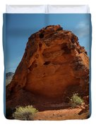 Monolith Sculpture Valley Of Fire Duvet Cover