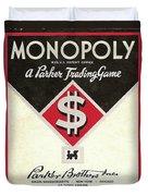 Monopoly Duvet Cover