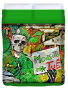 Monsanto Killed Me Duvet Cover