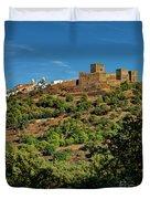 Monsaraz Medieval Town, Portugal Duvet Cover