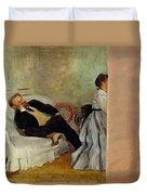 Monsieur And Madame Edouard Manet Duvet Cover