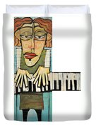 Monsieur Keys Duvet Cover