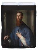 Monsignor Della Casa Duvet Cover