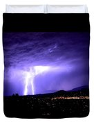 Monsoon Over Sedona Duvet Cover