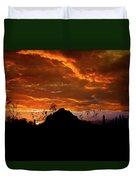Monsoon Sunset  Duvet Cover