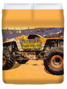Monster Jam Party In The Pits Duvet Cover