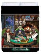 Monster Poker Duvet Cover