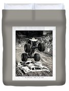 Monster Truck 1b Duvet Cover