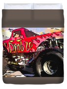 Monster Truck El Diablo Duvet Cover