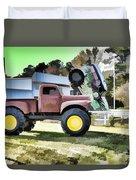 Monster Truck - Grave Digger 2 Duvet Cover