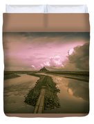 Mont Sunset Duvet Cover
