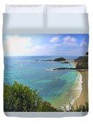 Montage Beach, Laguna Duvet Cover