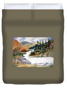 Montana Canyon Duvet Cover