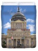 Montana Capitol Building Duvet Cover